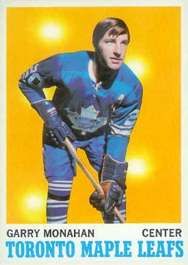 1970 O-Pee-Chee Garry Monahan #112 Hockey Card