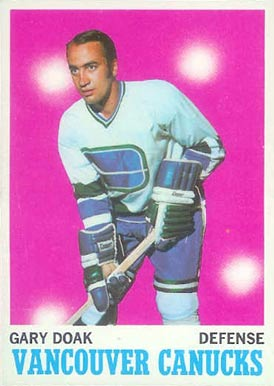1970 O-Pee-Chee Gary Doak #114 Hockey Card