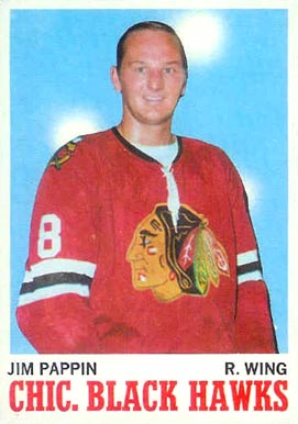 1970 O-Pee-Chee Jim Pappin #13 Hockey Card