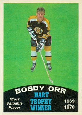 1970 O-Pee-Chee Bobby Orr #246 Hockey Card