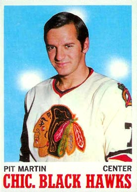 1970 O-Pee-Chee Pit Martin #18 Hockey Card