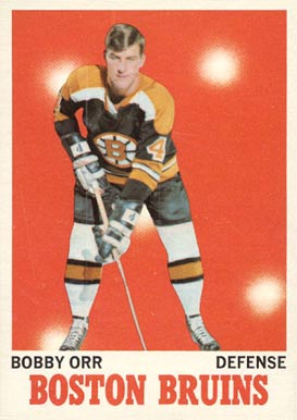 1970 O-Pee-Chee Bobby Orr #3 Hockey Card