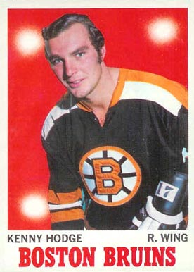 1970 O-Pee-Chee Ken Hodge #8 Hockey Card