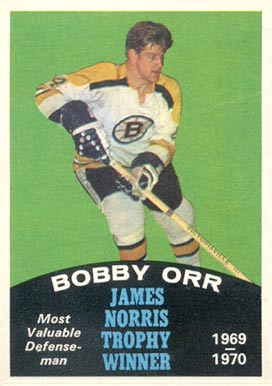 1970 O-Pee-Chee Bobby Orr #248 Hockey Card