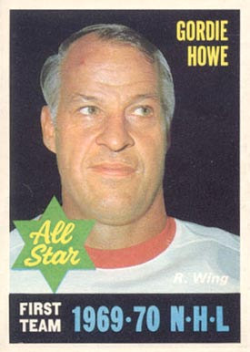 1970 O-Pee-Chee Gordie Howe #238 Hockey Card