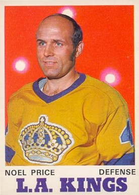 1970 O-Pee-Chee Noel Price #163 Hockey Card