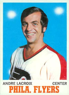 1970 O-Pee-Chee Andre Lacroix #84 Hockey Card