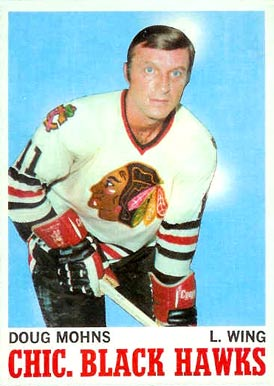 1970 Topps Doug Mohns #16 Hockey Card