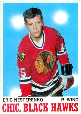 1970 Topps Eric Nesterenko #19 Hockey Card