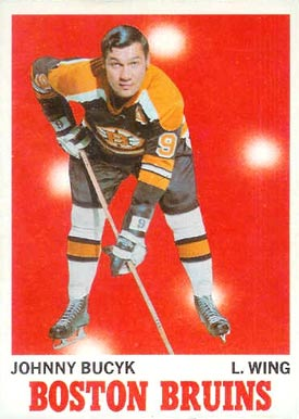 1970 Topps Johnny Bucyk #2 Hockey Card