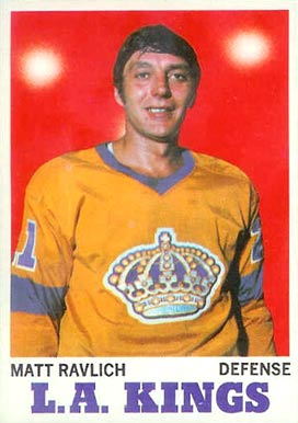 1970 Topps Matt Ravlich #32 Hockey Card