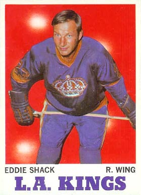 1970 Topps Eddie Shack #35 Hockey Card