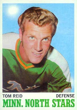 1970 Topps Tom Reid #43 Hockey Card