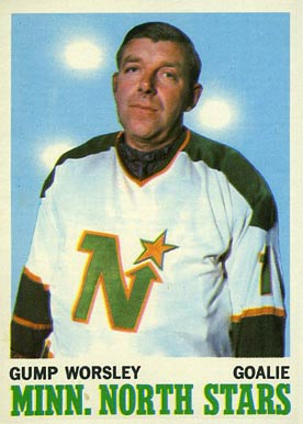 1970 Topps Gump Worsley #40 Hockey Card