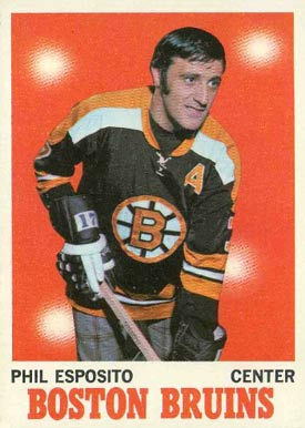 1970 Topps Phil Esposito #11 Hockey Card