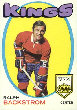 1971 O-Pee-Chee Ralph Backstrom #108 Hockey Card