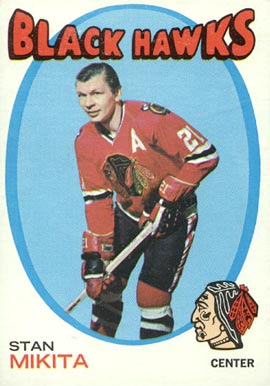 1971 O-Pee-Chee Stan Mikita #125 Hockey Card