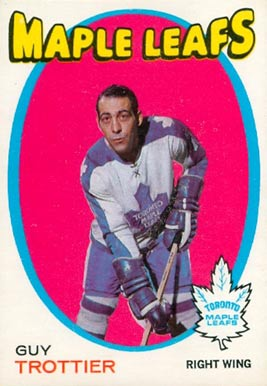 1971 O-Pee-Chee Guy Trottier #5 Hockey Card