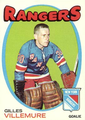 1971 O-Pee-Chee Gilles Villemure #18 Hockey Card
