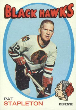 1971 O-Pee-Chee Pat Stapleton #25 Hockey Card