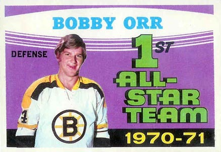 1971 O-Pee-Chee Bobby Orr #251 Hockey Card
