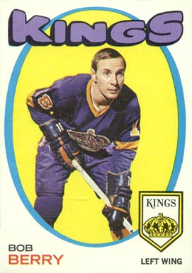 1971 O-Pee-Chee Bob Berry #76 Hockey Card