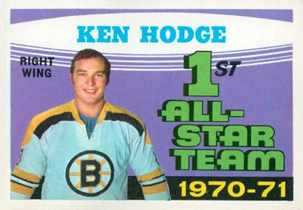 1971 O-Pee-Chee Ken Hodge #254 Hockey Card