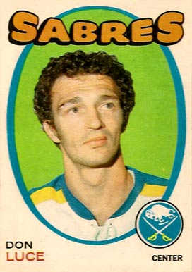 1971 O-Pee-Chee Don Luce #166 Hockey Card