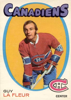 1971 O-Pee-Chee Guy LaFleur #148 Hockey Card