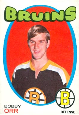 1971 O-Pee-Chee Bobby Orr #100 Hockey Card