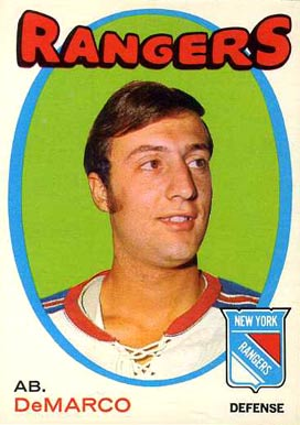 1971 O-Pee-Chee Ab Demarco #90 Hockey Card