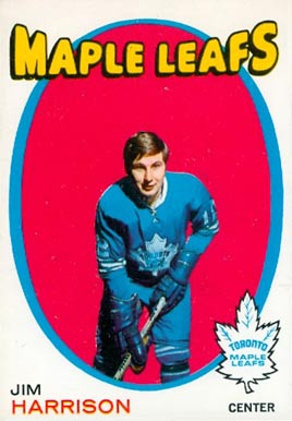 1971 O-Pee-Chee Jim Harrison #10 Hockey Card