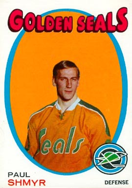 1971 O-Pee-Chee Paul Shmyr #6 Hockey Card