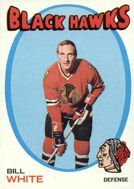 1971 Topps Bill White #11 Hockey Card