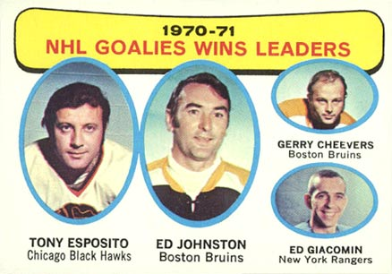 1971 Topps Tony Esposito #4 Hockey Card