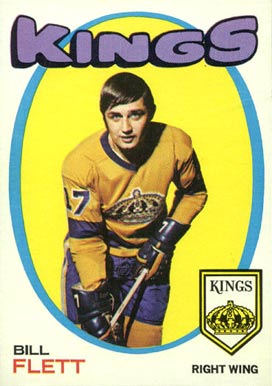 1971 Topps Bill Flett #47 Hockey Card