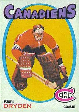 1971 Topps Ken Dryden #45 Hockey Card