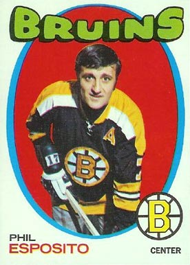 1971 Topps Phil Esposito #20 Hockey Card