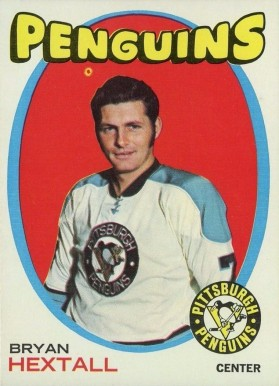 1971 Topps Bryan Hextall #16 Hockey Card