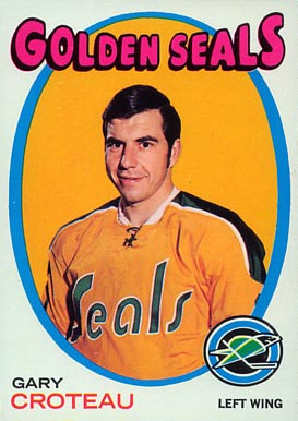 1971 Topps Gary Croteau #17 Hockey Card