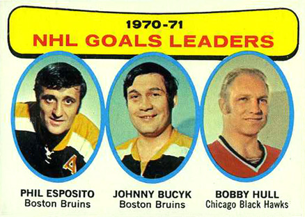 1971 Topps Phil Esposito #1 Hockey Card