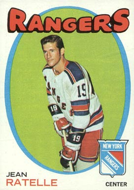 1971 Topps Jean Ratelle #97 Hockey Card