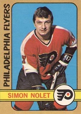 1972 O-Pee-Chee Simon Nolet #125 Hockey Card