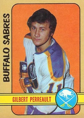 1972 O-Pee-Chee Gilbert Perreault #136 Hockey Card