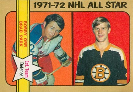 1972 O-Pee-Chee Bobby Orr #227 Hockey Card