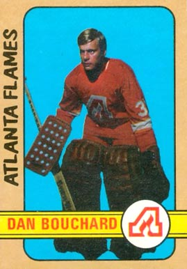 1972 O-Pee-Chee Dan Bouchard #203 Hockey Card