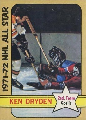 1972 O-Pee-Chee Ken Dryden #247 Hockey Card