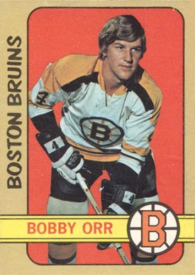 1972 O-Pee-Chee Bobby Orr #129 Hockey Card
