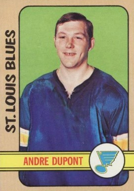 1972 Topps Andre Dupont #19 Hockey Card