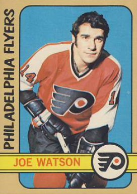 1972 Topps Joe Watson #156 Hockey Card